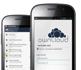 Owncloud mobile