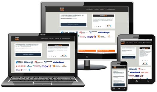 OnlineAOV Resonsive Webdesign