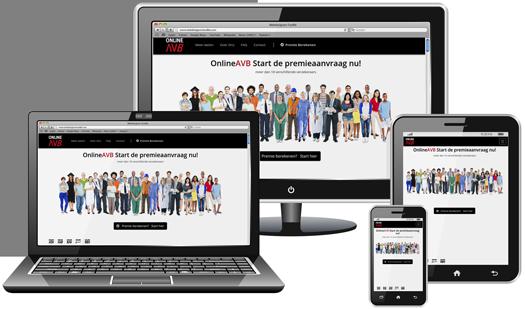 OnlineAVB Resonsive Webdesign